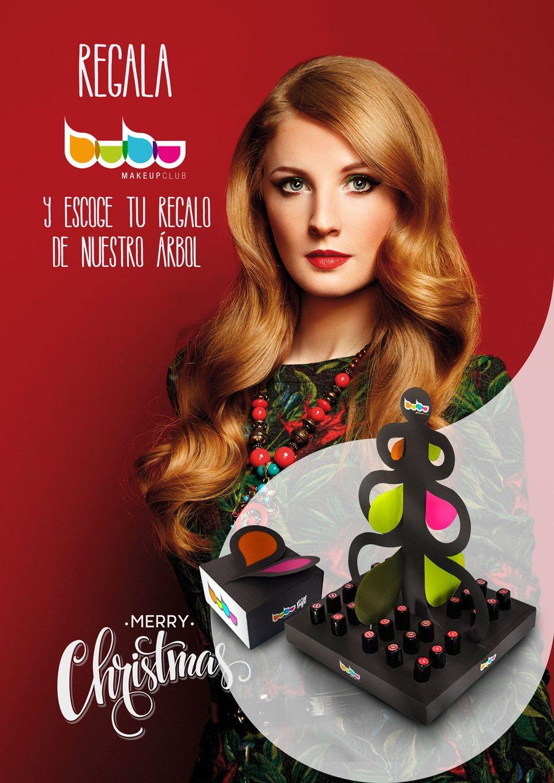 campaña navidad bubu makeup