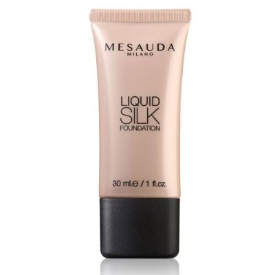 maquillaje liquid silk foundation de mesauda por bubu makeup