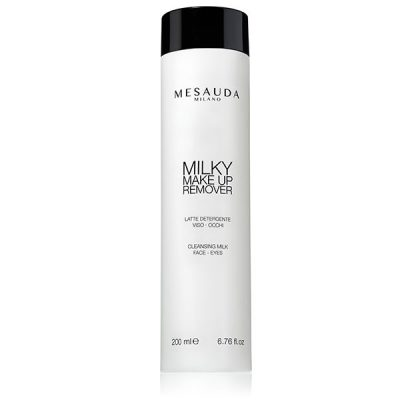 limpiador milky make up remover de mesauda por bubu makeup