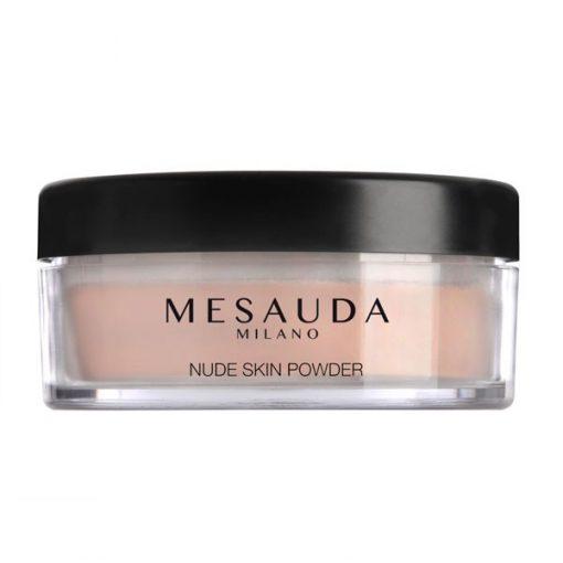maquillaje nude skin powder de mesauda por bubu makeup