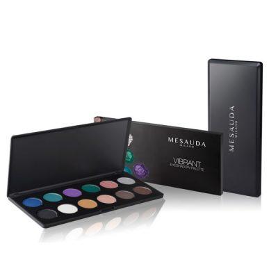 paleta vibrant eyeshadow de mesauda por bubu makeup