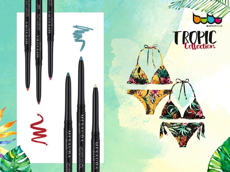 Bikinis y productos colección Tropic