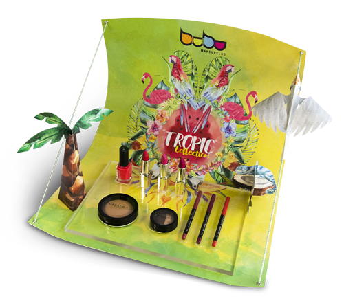 Tropic Collection de Bubu Makeup